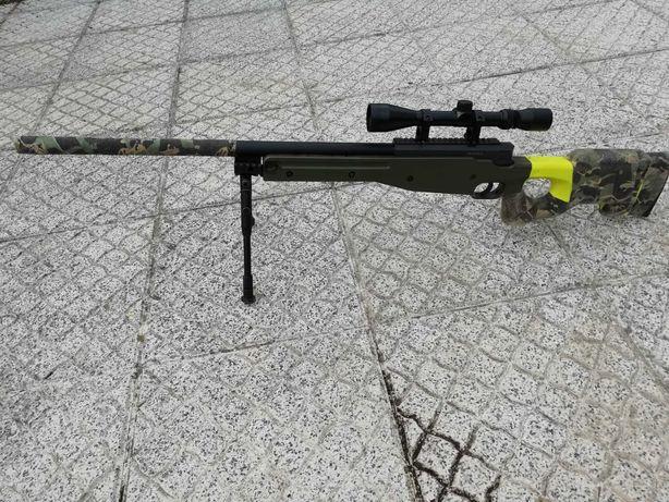 Vendo sniper com mira airsoft