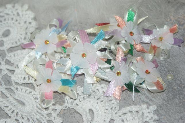Kotyliony, kokardki weselne