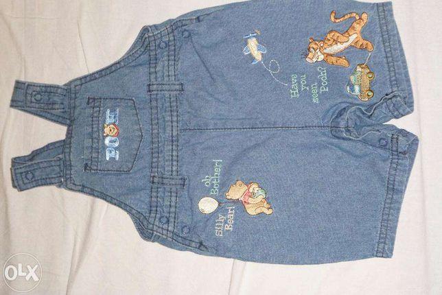 jeansy ogrodniczki Disney Baby 62-68