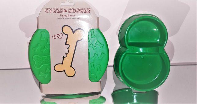 Миска двойная для животных +  Летающая тарелка Диск Фрисби для собак