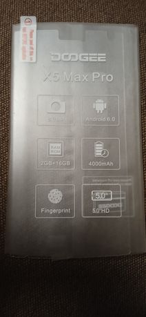 Закалённое стекло на DOOGEE X5 Max / Max Pro