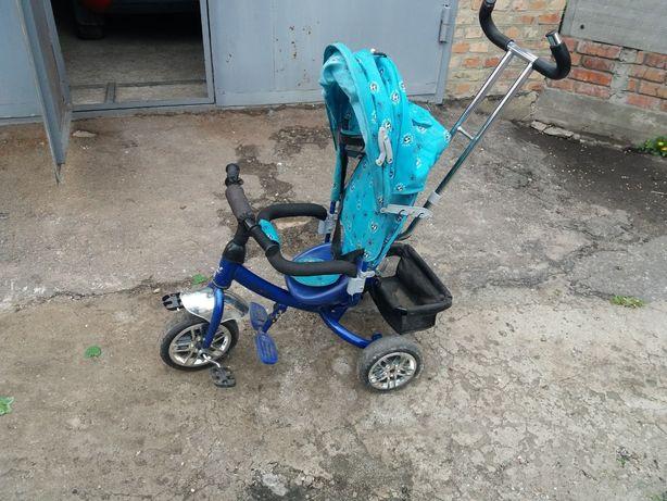 Детский велосипед трёхколесный