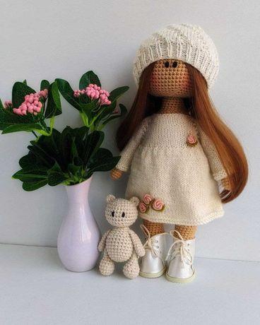 Интерьерная (игровая) кукла Тильда. Ручная работа