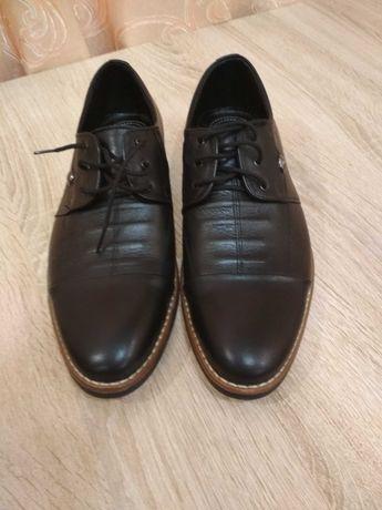Новые мужские туфли натуральная кожа Anino 41-42 размер