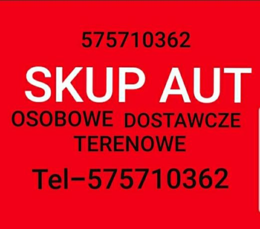 SKUP AUT Skup Samochodów Kupimy Każde Auto Osobowe Dostawcze Terenowe
