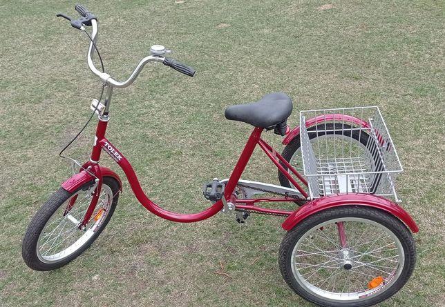 Rower rehabilitacyjny, trójkołowy.