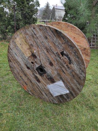 Szpula drewniana