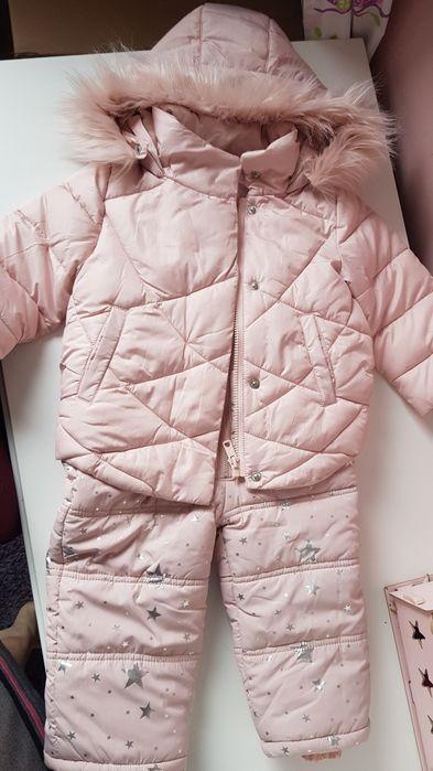 Nowy zimowy komplet kurtka oraz ciepłe spodnie80-86wysyłka OLX 1 zł Warszawa - image 1