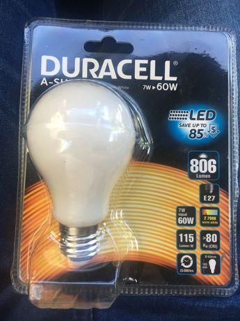 Żarówka 7W LED Duracell E27 806 7/60W
