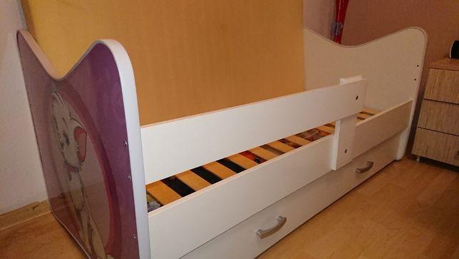Łóżko dla dziewczynki 70x140