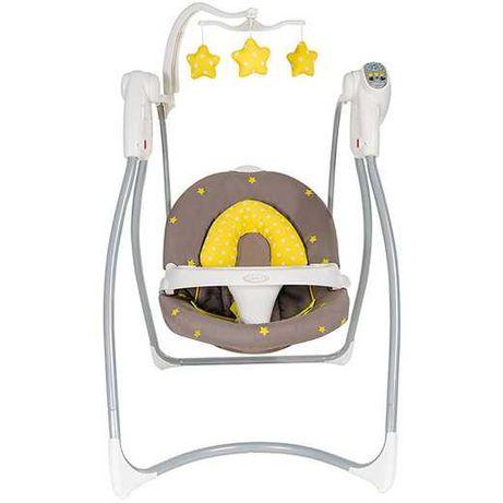 Детская кресло-качалка Graco Lovin Hug Neon, люлька