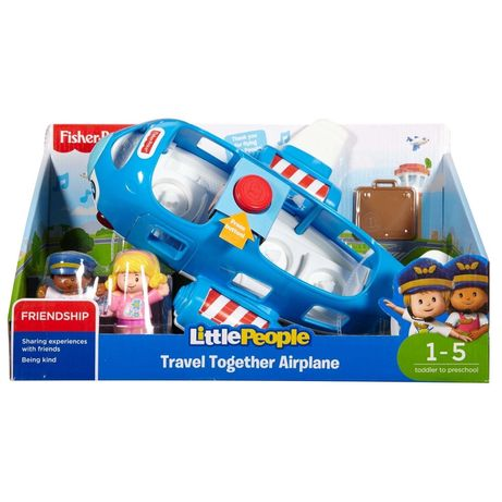 Fisher price little people самолет
