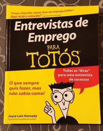 Livro Entrevistas de Emprego para Totós