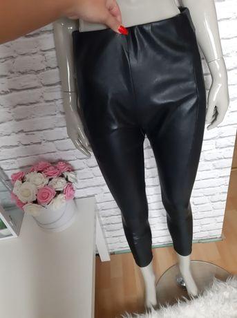 Next Petite s m spodnie ze skórki nowe