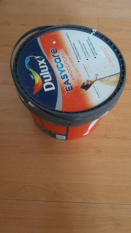 Farba Delux Easycare niekazitelna biel 5l uzywana