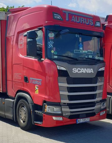 Scania S450, Iwłaściciel, kontrakt serwisowy, super,Klima Postojowa