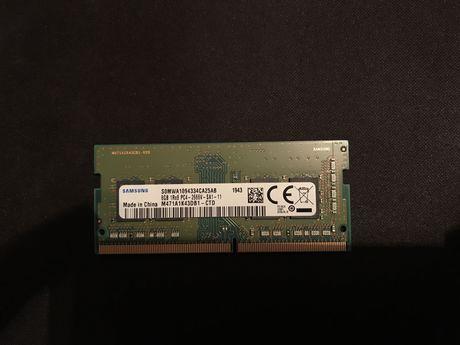 Оперативная память(озу) для ноутбука. samsung ddr4 8гб АКТИВНО!