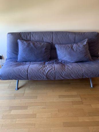 Sofa cama desdobravel azul