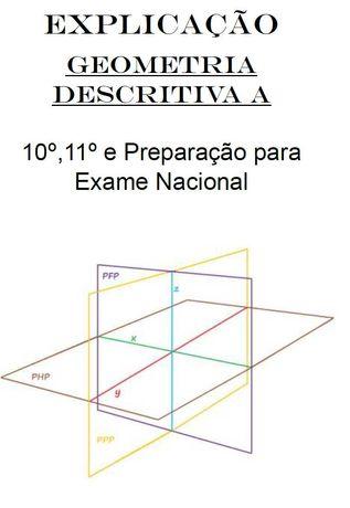 Explicações Geometria Descritiva A