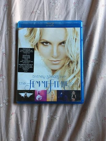 Britney Spears - The femme fatale tour DVD Blu-ray