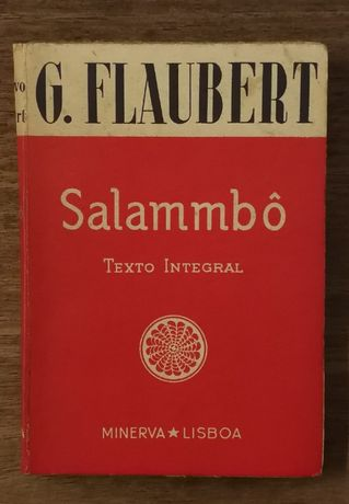 salammbô, g. flaubert, minerva lisboa
