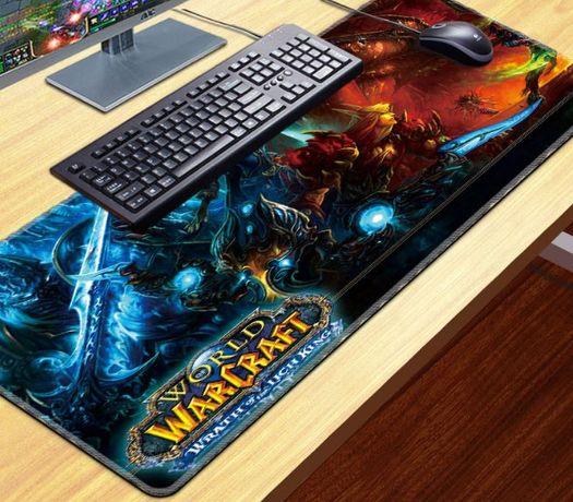 [Warcraft] Коврик для мышки Большой 80х30 Lich King игры Wow Pubg dota