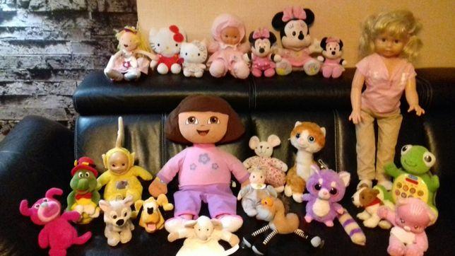 Zabawki, pluszaki, interaktywne, edukacyjne, RÓŻNE
