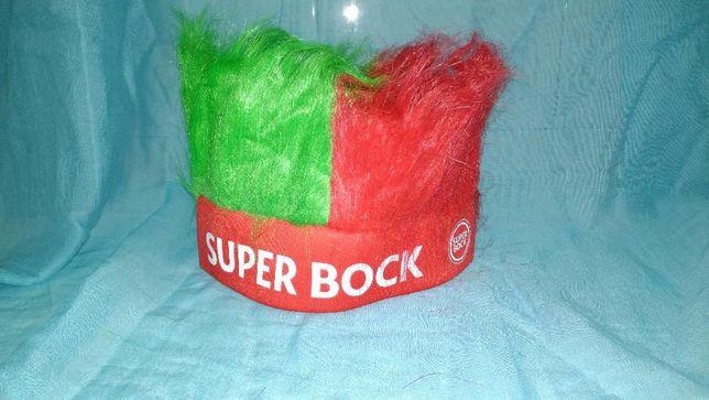 Cocar de penas Super Bock - Apoio à Seleção