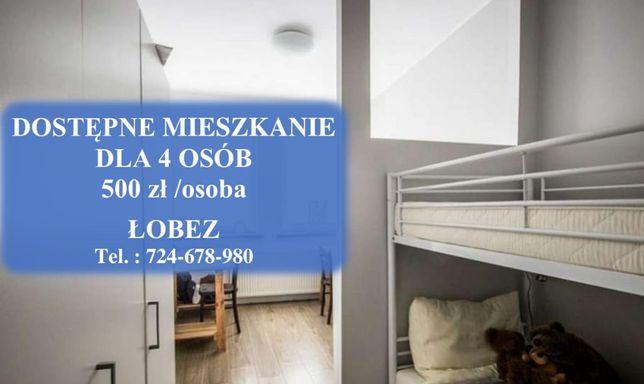 Mieszkanie dla pracowników 6 osób
