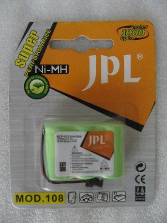 Аккумулятор JPL для радиотелефонов Ni-MH, модель 108, 3.6В, новый