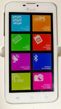 Smartfon Lark Phablet 6.0 z uchwytem samochodowym