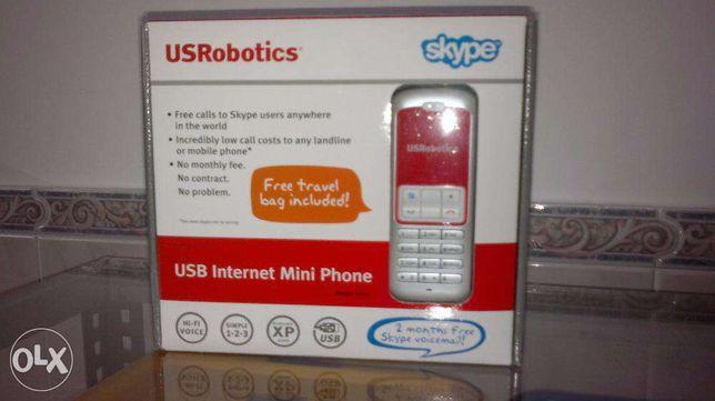 USRobotics Telefone Skype Usb (NOVO)
