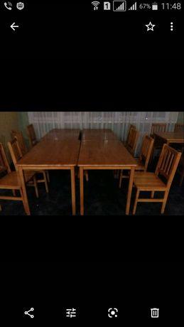 Столи дерев'яні  (Малайзія)для кафе,ресторану,офісу, будинку