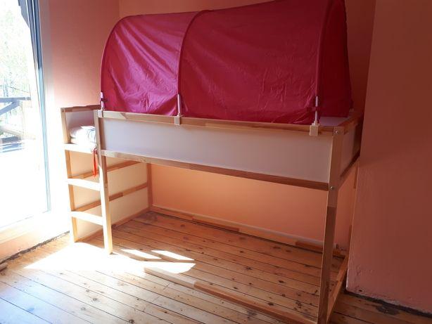 Łóżko dziecięce Kura Ikea