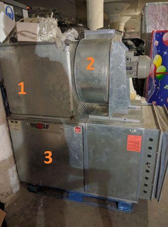 Вентилятор, вытяжка, канальный промышленный
