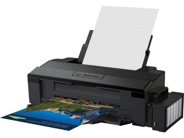 Цветной ФОТО принтер А3 с СНПЧ Epson L1800