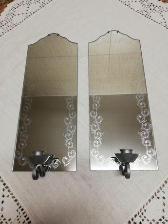 Espelhos Decorativos com Vela - Novo