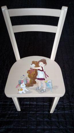 Детский стульчик деревянный, стул