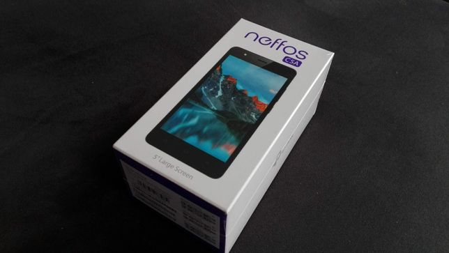 Smartfon TP-LINK Neffos C5A 8GB Szary (TP703A21PL)
