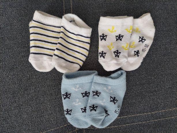 Skarpetki niemowlęce chłopięce 15-18