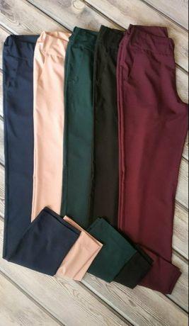 Летние брюки без застежки софт 48-50р