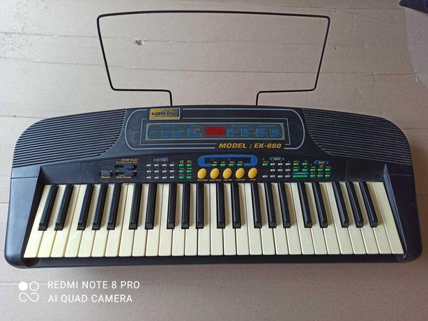 Keyboard organy Majestic EK-660