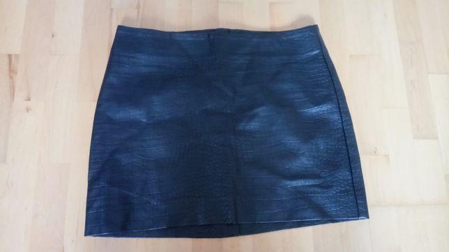 Spódniczka mini ala skórzana rozmiar m /38 H&m gratis spódniczka