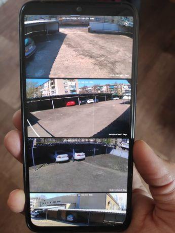Видеонаблюдение Камеры IP, удаленное наблюдение в смартфоне