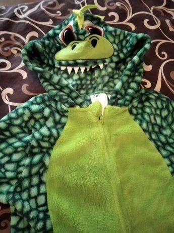 Флисовый костюм динозаврик НМ