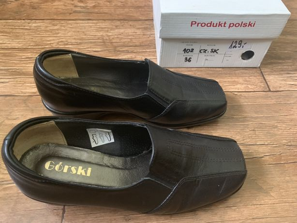 Półbuty - pantofle r. 36