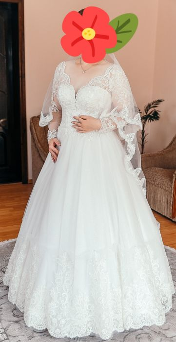 Продається весільне плаття Тысменица - изображение 1