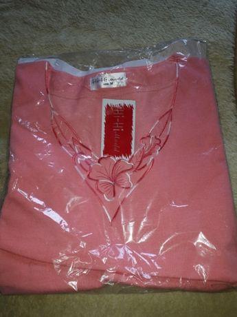 Nowa damska koszulka,bluzka Różowa Super Cena ostatnie Sztuka!!!