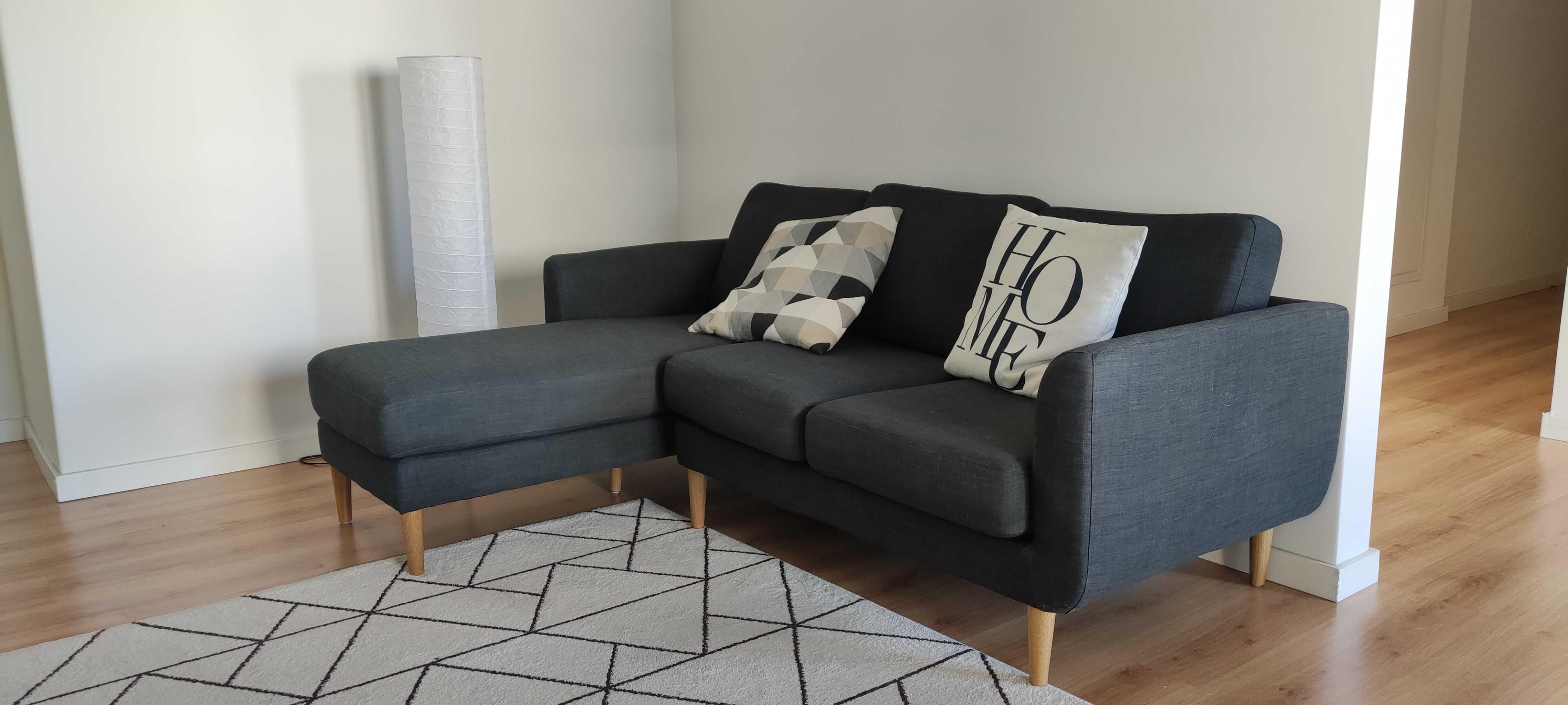 Sofá de canto com chaise longue JIMI - La Redoute
