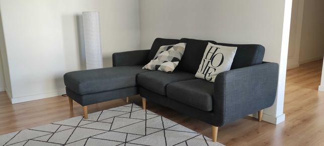 Sofá 3 lugares com chaise longue JIMI - La Redoute